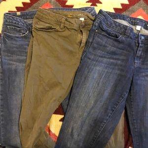 Lauren Conrad women's size 8 jeans bundle